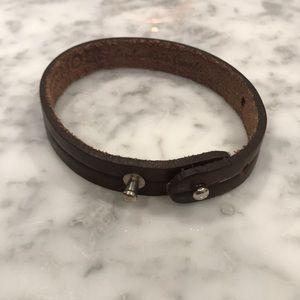 Men's Stylish Leather Bracelet